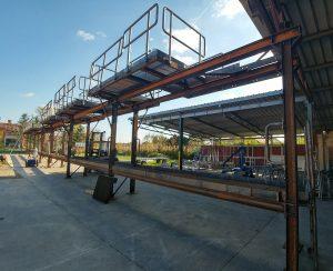 Pocinkovane celicne konstrukcije - servisne industrijske platforme